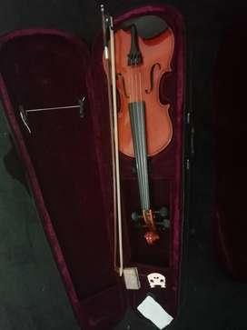 Nuevo Violin Hoffer 3/4 Microafinación, Estuche, Almohadilla, Arco
