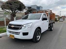 Chevrolet luv Dmax 2017 diesel estacas