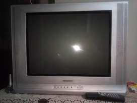 Televisor Samsung 21 pulgadas con su control