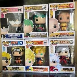 Funko Pop Anime Inuyasha Dragon Ball One Punch Man Sailor Moon One Piece Naruto
