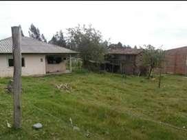De oportunidad vendo casa con terreno ubicado en pumayunga via al carmen de sinincay negociable agua y luz