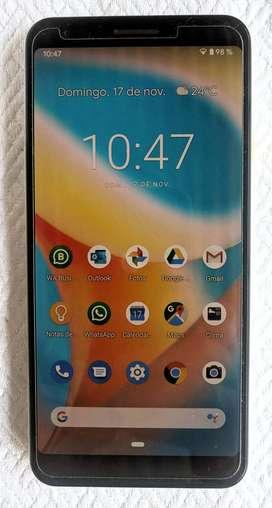 Google Pixel 3a Xl 64gb Tres Carcasas Spigen Glass Protector