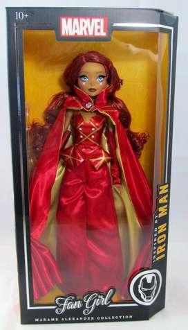 Muñeca Marvel fan girl Iron Man