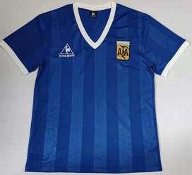 Camiseta Retro Alternativa Argentina 1986
