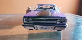 Plymouth Gtx 1970 Nuevo Escala 1:24