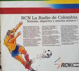 italia 90, Disco de acetato  souvenir de RCN