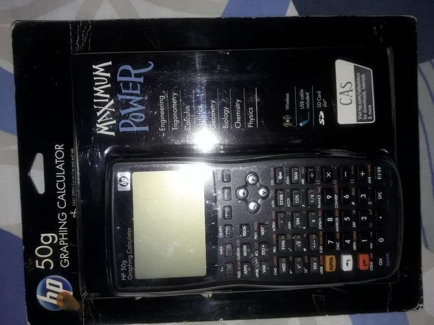 Calculadora Hp 50g 0