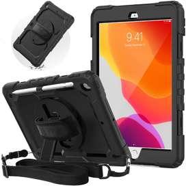 Estuche protector de silicona a prueba de golpes resistente para iPad 10.2