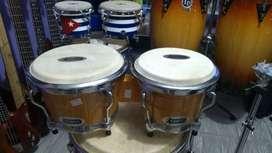 Bongo en madera  Percusión