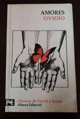 Amores, de Ovidio