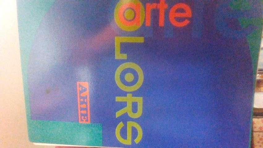 Cuaderno ARTE COLORS 80 hojas rayadas 22x29,7 Estrada 0