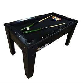 mesa de billar y pool (mixto)