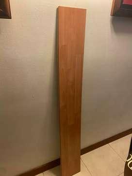 Piso laminado madera