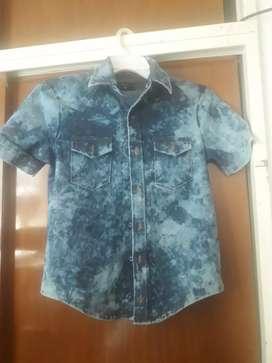 Camisa niño nueva talle 14