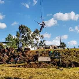 Construcción de Canopy Zip Line