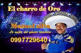 """Cantante """"El Charro de Oro"""""""