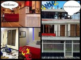 Hospedaje por noches. habitaciones cómodas