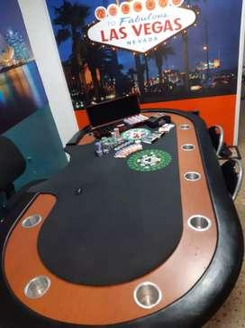 Se vende mesa de poker