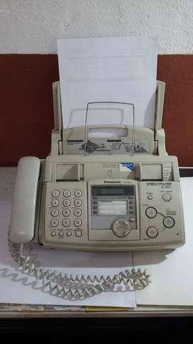 Fax Panasonic, papel comun