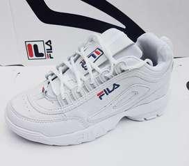 Zapatillas Fila Disruptor 2 talles 34 al 43 nuevas en caja