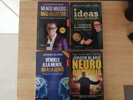 Libros sobre emprendimiento y ventas