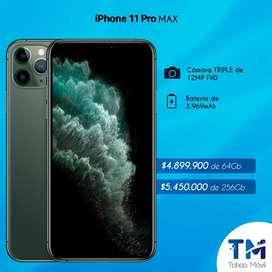 IPHONE 11 PRO MAX NUEVOS SELLADOS