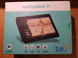 "GPS Navigator 7"" TV. Navegador Satelital. Pantalla LCD 7"""