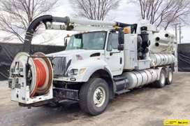 Vactor camion  serie 2100 international 7600 modelo 2007