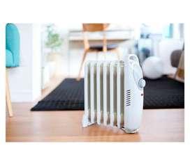 Calefactor Oleoelectrico Recco 600w Blanco