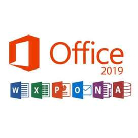 Microsoft Office 2019 Professional NO EXPIRA !!