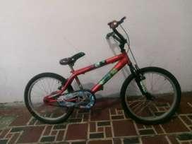 Bicicleta niños cars Cat 6 -10 años