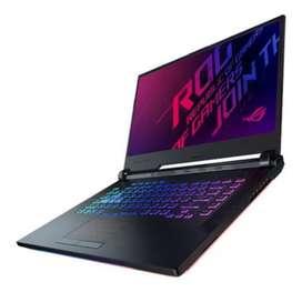 Laptop gamer Asus rog strix