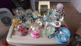 Colección de bolas de nieve 26 piezas bonitas varios lugares