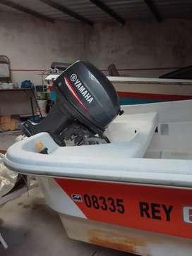 Traker aramendi 6.20 con motor Yamaha 40hp