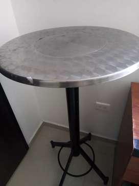 Mesa tipo bar