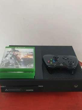 Xbox one s con 9 juegos