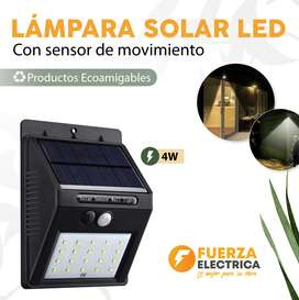 Lámpara solar led 4 w