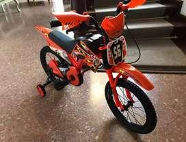 Bicicleta para los chicos !! Bici moto rodado 16