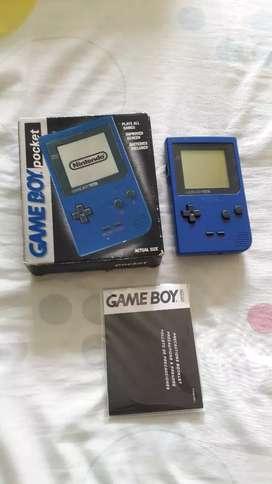 Game boy  en caja mas juegos