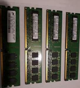 Memoria Ram 1gb Ddr2 Para Pc Original Dell Usado Fotos Reales