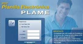Curso de Planilla Eléctronica(PLAME)para estudiantes y profesionales