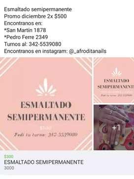 ESMALTADO SEMIPERMANENTE