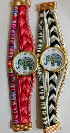 Relojes diseños elefantes
