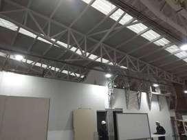 construcciones en drywall , paredes tipo 3d , porcelanato liquido