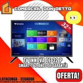 Televisión Innova de 32 Pulgadas Smart Tv Wifi