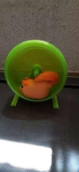 Ratón con rueda a pila