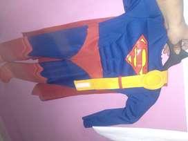 Disfraz de supermán como nuevo