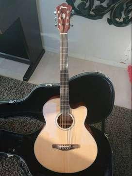 Guitarra Electroacustica  Ibanez Con afinador 2 puas mini amplificador y afinador