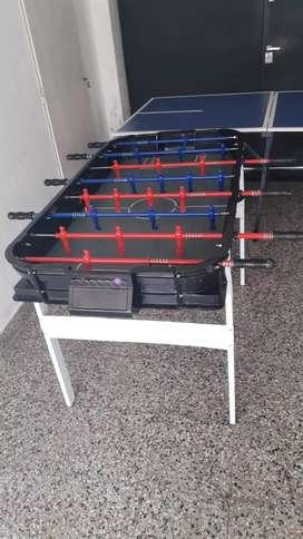 Alquiler de tejo metegol ping pong inflables