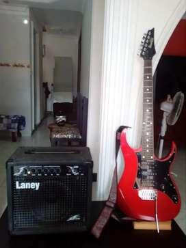 Vendo combo guitarra eléctrica y amplificador laney